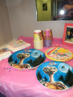 Vintage 80's Party Supplies