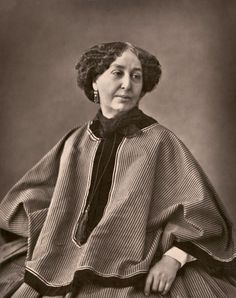 French novelist Amantine Dupin better known under the pseudonym George Sand. Photographs of the famous by Felix Nadar George Sand, Johann Wolfgang Von Goethe, Writers And Poets, History Of Photography, Museum Photography, Photography Institute, Book Writer, Essay Writer, French Photographers
