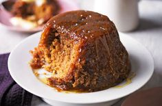 A steamed pudding is nostalgia on a plate and the perfect comfort food. This classic recipe for treacle sponge pudding is a great place to start if you want to add steamed puddings to your repertoire. Vist Tesco Real Food for this recipe and so much more. Treacle Sponge Pudding, Sponge Pudding Recipe, Pudding Recipes, Delicious Desserts, Dessert Recipes, Yummy Food, Dessert Ideas, British Desserts, Scottish Desserts