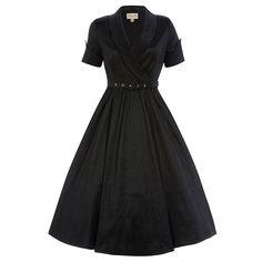 Vanda Black Party Dress | Vintage Style Dresses - Lindy Bop