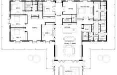 6 Bedroom House Plans | 84 Best 6 Bedroom House Plans Images In 2019 Floor Plans House