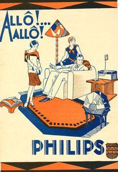 Philips radio Retro Advertising, Retro Ads, Vintage Advertisements, Radios, Pub Vintage, Vintage Labels, Retro Poster, Vintage Posters, Lps