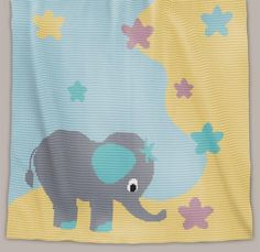 Crochet Pattern | Baby Blanket - Stargazer (Chart)