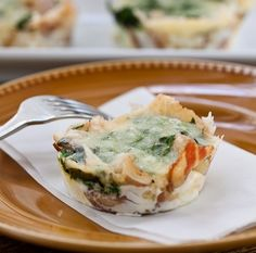 These little baked egg cups couldn't be easier to put together for a holiday brunch. With soft-cooked eggs, Italian-style bacon and spinach, they're crowd pleasing and pretty too. I like to serve them warm with a mixed green salad on the side. Pancetta Egg Cups By Karen Makes 6 Ingredients:Get the Recipe