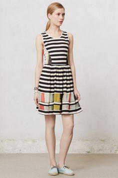 Modern Composition Dress