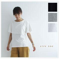 【etre nne エトレンヌ】ケープ タンクトップ(1052790)