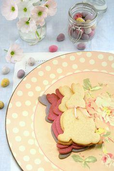 ♣~ Easter Bunny Cookies ~♣                                       #cookies. #bunny. #easter