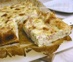 Torta salata di cavolfiore e gorgonzola è una deliziosa e saporita preparazione in cui un guscio di fragrante pasta sfoglia, racchiude un morbido ripieno..