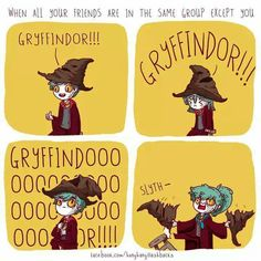 This is me only with hufflepuff not Slytherin. I LOVE HUFFLEPUFF!!!!!!!!!!!!