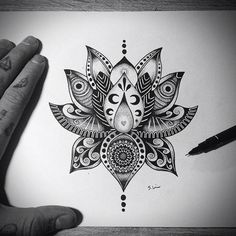 Mandala – Lotus Tattoo