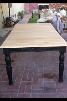 Ready for stain