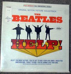 Found on EstateSales.NET: Sealed first pressing album Help by The Beatles movie version