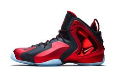 "Wowzas! I'd happily click my heels together in those. #Nike Lil Penny Posite ""University Red"""
