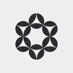 A new geometric and minimal design every day. Abstract Shapes, Geometric Designs, Geometric Shapes, Op Art, Design Elements, Design Art, Logo Luxury, Pattern Texture, Graphic Art