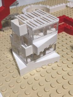 Concept Architecture, Architecture Design, Lego Studios, Micro Lego, Lego Boards, Lego Mechs, Modelos 3d, Lego House, Lego Models