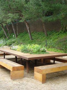 A gardener's table