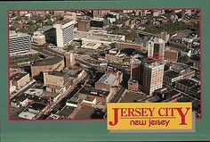 Aerial View of Jersey City, New Jersey, Journal Square, Hudson Co. Jersey Girl, New Jersey, Menlo Park Mall, Aerial View, My Images, Childhood Memories, Places Ive Been, City Photo, Transportation