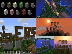 """...for losers."" #minecraft #type #quotes #umbertoeco #makingof"