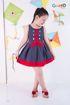 – Home Decorating Frocks For Girls, Little Girl Dresses, Girls Dresses, Baby Girl Dress Patterns, Baby Clothes Patterns, Cute Kids Fashion, Baby Girl Fashion, Designer Kids Clothes, American Girl Clothes