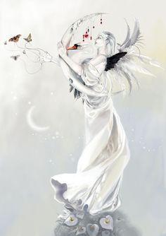 "Stephanie Pui-Mun Law Angels | White Angel"" de Stephanie Pui-Mun Law (c) ( link )"