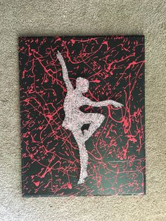 A personal favorite from my Etsy shop https://www.etsy.com/listing/280307258/ballerin-ballet-dancer-string-art you need wall Decour of ballerina string art for any young girl that loves ballet and any other kind of dancing a great birthday gift