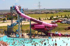 Hawaiian Falls Mansfield TX-Seasonal waterpark featuring slides, rides, wave pool & a lazy river, plus kids' play areas.--490 Heritage Pkwy, Mansfield, TX-www.hfalls.com/mansfield