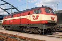 420 01 (ex DB 219 001) EVB Eisenbahnen und Verkehrsbetriebe Elbe Weser GmbH