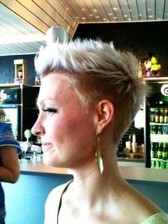short with undercut - i think i like the length on top with this one.