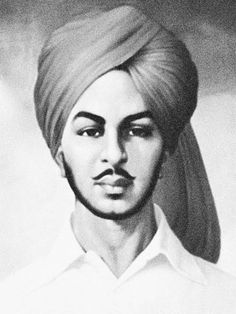 Bhagat Singh Essay, Bhagat Singh In Hindi, Bhagat Singh Quotes, Bhagat Singh Wallpapers, Freedom Fighters Of India, School Teacher Student, India People, Pencil Art Drawings, Art Sketches