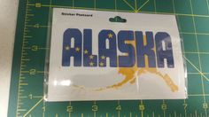 Alaska Sticker Postcard -  Big Dipper in Alaska and Map of AK - New in package    If you click on the View Page tab it will take you to our eBay store listing for this item.  When you click on the following link, it will take you to our Way Up In Alaska Stickers, Decals & Such page:  http://www.wayupinalaska.com/Stickers--Decals---Such.html