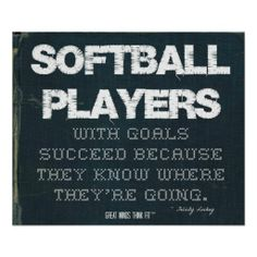 Shop Netball Players with Goals Succeed in Denim Poster created by GreatMindsThinkFit. Softball Quotes, Golf Quotes, Sport Quotes, Softball Players, Softball Mom, Tennis Players, Softball Tshirts, Softball Coach, Softball Stuff