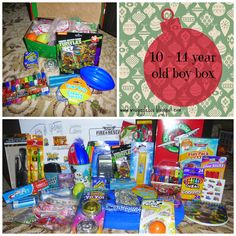 Gigglebox Tells it Like it is...: Operation Christmas Child 2014 - packing a 10 - 14 year old boy box