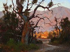 Sycamore Vista by Jim Wodark Oil ~ 12 x 16