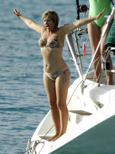 Still hot at Penny Smith, Swimsuits, Bikinis, Swimwear, Grace Slick, Tv Presenters, Celebs, Celebrities, Lingerie