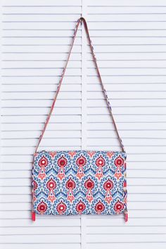 Bolsa bordada estampada sea | Dress to