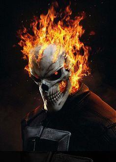 ArtStation - Agents of Shield Ghost Rider, Aiko Aiham Ghost Rider Film, New Ghost Rider, Ghost Rider Marvel, Ghost Rider Shield, Ghost Rider Tattoo, Ghost Rider Wallpaper, Skull Wallpaper, Marvel Wallpaper, Boat Wallpaper