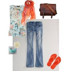 """""""summer evening"""" by simplyrosie on Polyvore"""