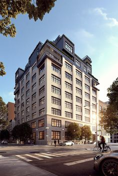 Work is complete at 90 Morton Street, a 12-story project from Gottesman-Szmelcman Architecture and Brack Capital Real Estate in the West Village.
