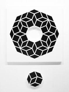 Aakash Nihalani Whole 2 2012 Jonathan LeVine. Geometric Graphic Design, Geometric Art, Graphic Art, Tape Art, Geometry Pattern, Repeating Patterns, Traditional Art, Art Gallery, Artsy