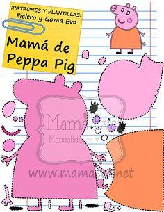 Plantillas Personajes Actuales Peppa Pig