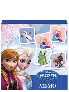 Frozen-muistipelin tyylikkäillä kuvilla koristetut laatat kestävät pelistä peliin. Tämä peliklassikko opettaa loogista ajattelua.