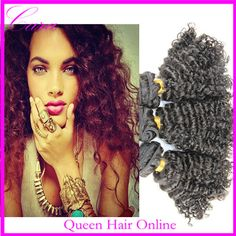 Free shipping Grade AAAAA unprocessed malaysian virgin hair kinky curly weave 8-26 available natural color malaysian curly hair $72.50 - 228.00