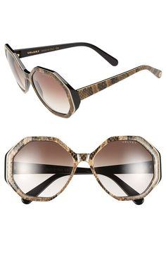 bfc89fabc06 Velvet Eyewear  Jami  56mm Sunglasses available at  Nordstrom Italian  Sunglasses