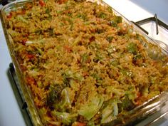Frazzled Mom and Friends: Inside Out Cabbage Rolls - economical and delish!
