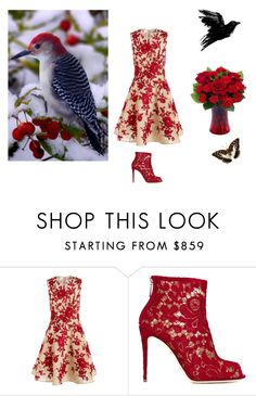 """Nature"" by mikaelavanessa ❤ liked on Polyvore featuring beauty, Naeem Khan and Dolce&Gabbana"