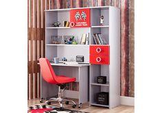 Παιδικό γραφείο Turbo Cap 772 Shelving, Corner Desk, Furniture, Home Decor, Shelves, Corner Table, Decoration Home, Room Decor, Shelf