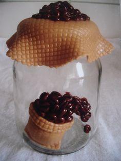 vidro de Café