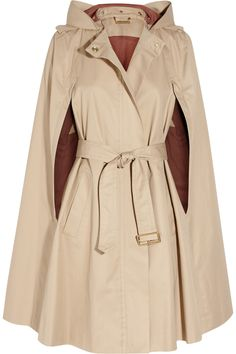 "DVF ""Power"" cape. I don't know if I'd ever be cool enough to wear this. It makes me think of Grace Kelly though."