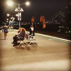 Milsons Point Train Station has the best view! #bestcityonearth #sydney #sydneyharbourbridge #milsonspoint #trains by quixotic_gal http://ift.tt/1NRMbNv