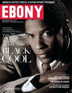 Denzel Washington Ebony magazine August 2008